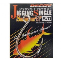 Decoy JS1 Jigging Single Hook