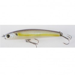 Lucky Craft Wander 60 Sinking Pencil Bait Salty Charteuse Shad