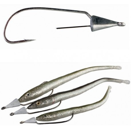 Savage Gear Slug Darting Weedless Hooks henrys