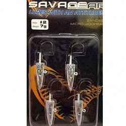 Savage Gear Micro Jig Heads Size 2 Hook
