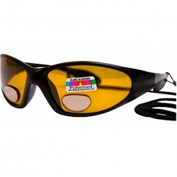 Angling Eyes Magnifying Sunglasses Amber Lens
