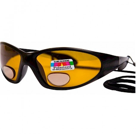Angling Eyes Magnifying Sunglasses Amber Lens henrys