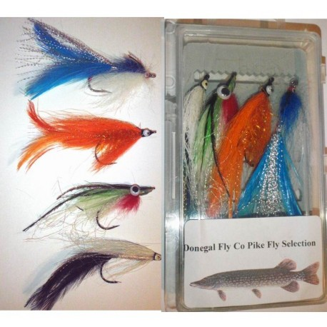 Donegal Fly Co Pike Fly Selection henrys