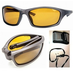 Daiwa Folding Polarised Sunglasses Amber Lens