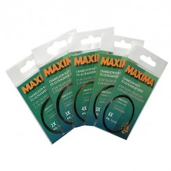 Maxima Tapered Fly Leaders Chameleon to Ultragreen