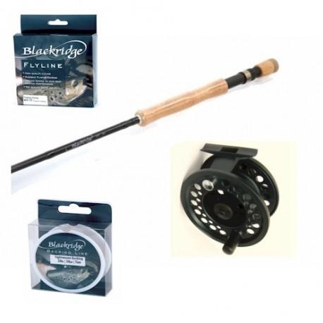 Blackridge Complete Fly Rod Reel Line Combo henrys