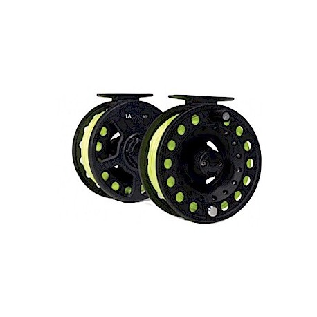 Leeda RTF 7/8 Fly Reel with line henrys