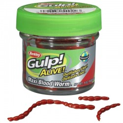 Berkley Gulp Alive Maxi Bloodworm