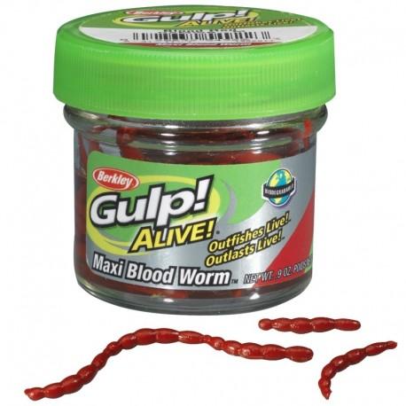 Berkley Gulp Alive Maxi Bloodworm henrys