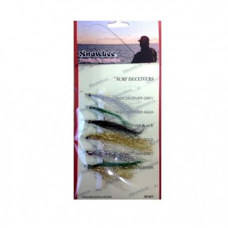 Snowbee Surf Deceivers Fly Selection henrys