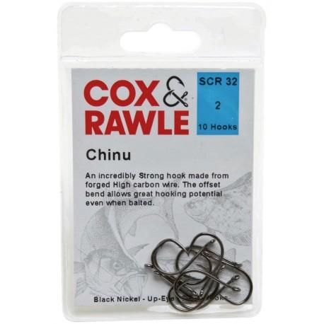 Cox and Rawle Chinu Hooks henrys