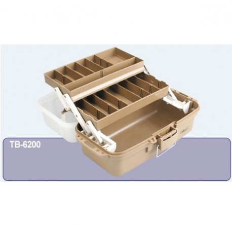 Relix 6200B 2 Tray Tackle Box henrys