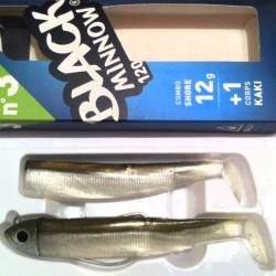 Fiiish Black Minnow 120 12g Combo Pack Kaki