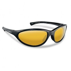 Flying Fisherman Calcutta Sunglasses Black Yellow Amber