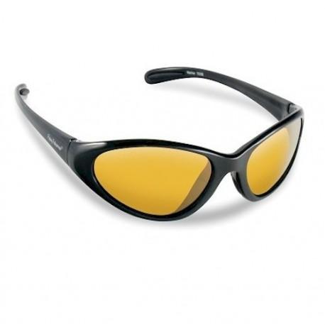 Flying Fisherman Mariner Sunglasses Black Yellow Amber henrys