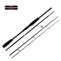 Sakura Shinjin Neo 7'  4 Piece Medium Travel Lure Rod