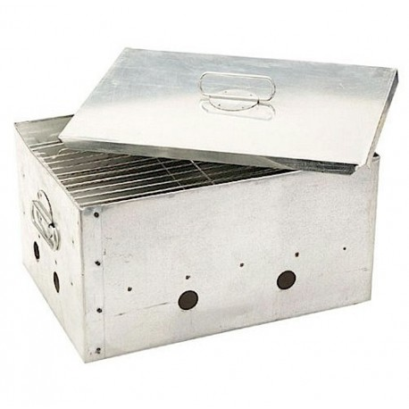 Jarvis Walker Stainless Fish Smoker henrys