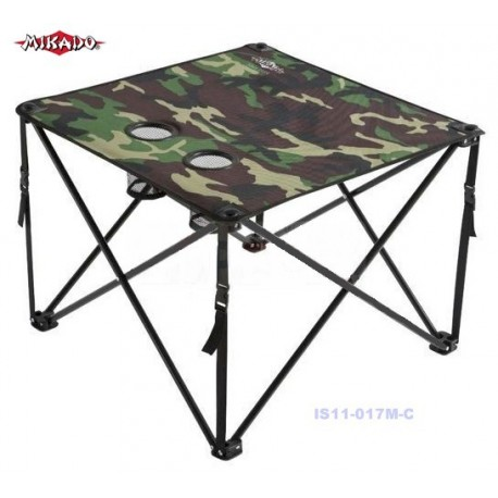 Mikado Folding Table Camo henrys