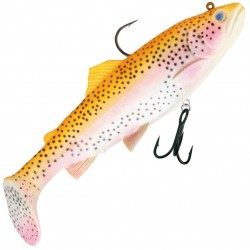 Savage Gear 3D Trout Rattle Shad 17cm Golden Albino Rainbow