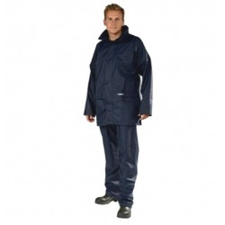 Ocean Comfort Light Pu Waterproof Jacket Navy