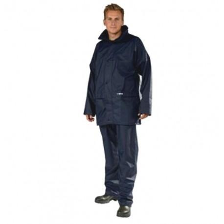 Ocean Comfort Light Pu Waterproof Jacket Navy henrys