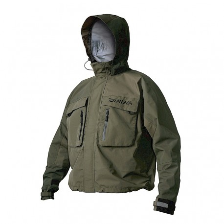 Daiwa Game Breathable Wading Jacket henrys