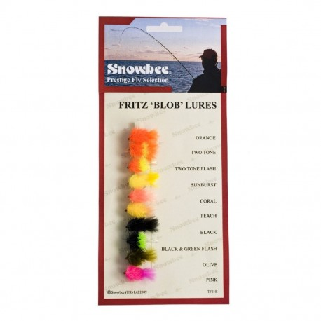 Snowbee Fritz Blobs Fly Selection henrys