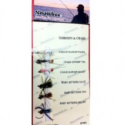 Snowbee Shrimps and Crabs Fly Selection
