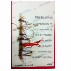 Snowbee Dry Daddies Fly Selection