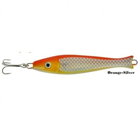 Zebco Fat Head Pirk 200g Orange Silver henrys