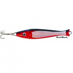 Zebco Fat Head Pirk 300g Red Black