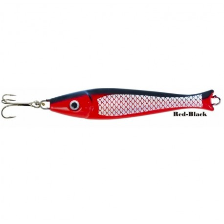 Zebco Fat Head Pirk 300g Red Black henrys