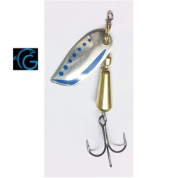 Glardon Stucki Brauen Spinner 5g Silver Blue