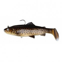 Savage Gear 3D Trout Rattle Shad 17cm Dark Brown Trout