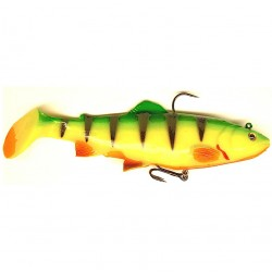 Savage Gear 3D Trout Rattle Shad 12.5cm Fire Tiger