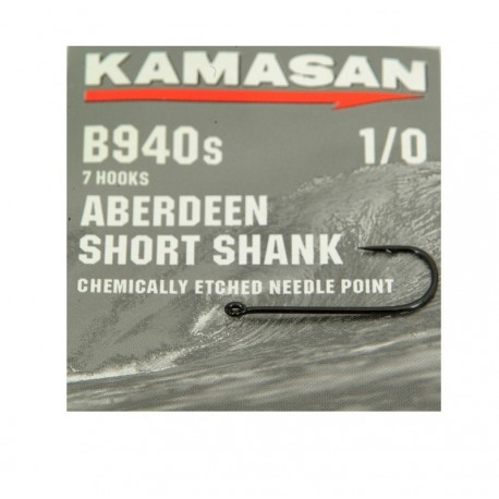 Kamasan B940S Short Shank Hooks henrys