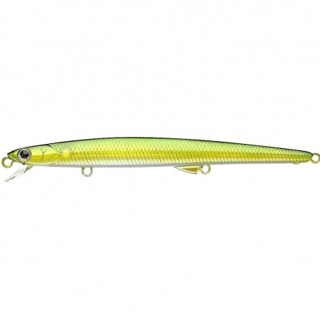 Lucky Craft Flash Minnow Slim 113F Aurora Green Shad henrys