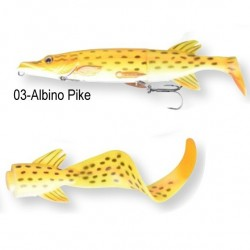 Savage Gear 3D Pike Hybrid 25cm Albino Pike