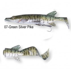 Savage Gear 3D Pike Hybrid 17cm Green Silver Pike