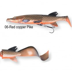 Savage Gear 3D Pike Hybrid 17cm Green Red Copper Pike