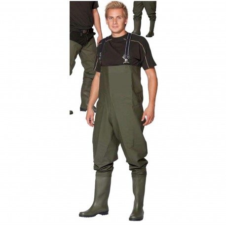 Goodyear Combi Sport 700g Chest Waders Olive 45 henrys