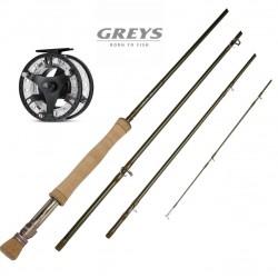 Greys XF2 11 Lake Fly Combo
