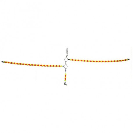 Tronix Boat Pro Beaded Spreader 8mm Red Yellow henrys