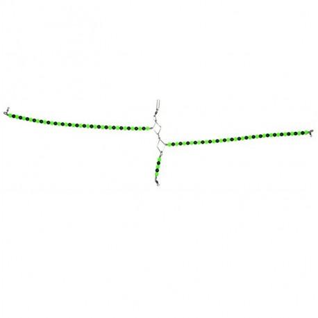 Tronix Boat Pro Beaded Spreader 5m Green Black henrys