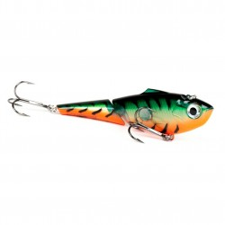 Rapala Jointed Clackin rap 14cm Gold Fl Orange Tiger