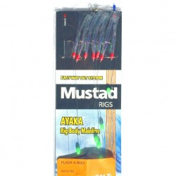 Mustad Flashaboo T83 Mackerel Rig 7 Hook