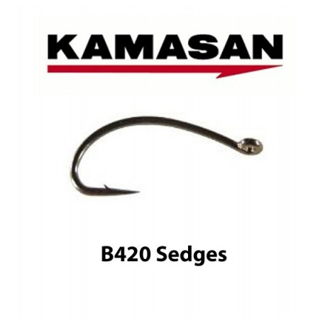 Kamasan B420 Sedges Fly Hook henrys