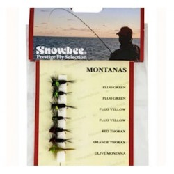 Snowbee Montanas Weighted Fly Selection