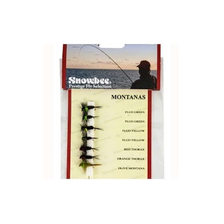 Snowbee Montanas Weighted Fly Selection henrys