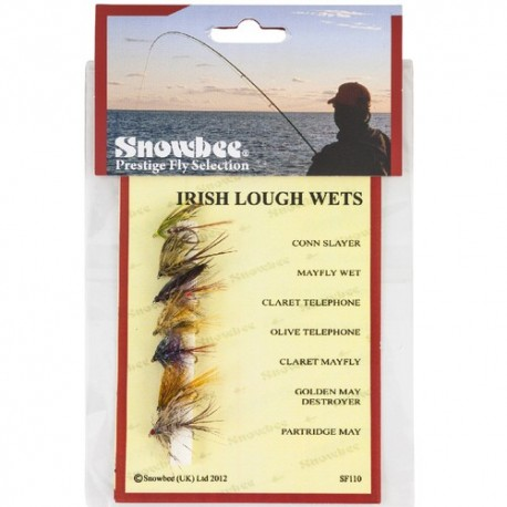 Snowbee Irish Lough Wet Fly Selection henrys